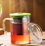Tazza di tè di vetro della tazza della tazza del regalo del regalo variopinto della tazza con il filtro