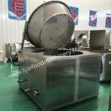 機械か半自動フライヤーを揚げる商業ポテトChinps