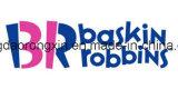 Het dubbele Document van de Kop van het Roomijs van Baskin Robbins van Kanten PE Met een laag bedekte