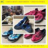 Используемые оптовой продажей ботинки человека & повелительниц, используемый экспорт Bales ботинок для африканского рынка