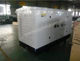 gerador 125kVA Diesel silencioso com motor R6105zld de Weifang com aprovações de Ce/Soncap/CIQ