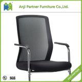 현대 디자인 고정 높이 까만 메시 사무용 컴퓨터 의자 (Myra)