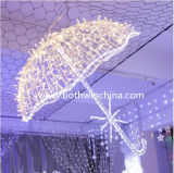 3D СИД Light Umbrella Wedding Decoration