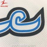 Healongデザイナー染料は印刷によってカスタマイズされたホッケーのジャージを昇華させた
