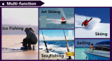 Los hombres impermeabilizan la chaqueta de esquí al aire libre (QF-670)