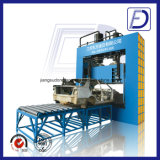 油圧鉄アルミニウム銅シートの正方形の打抜き機