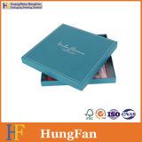 Boîte-cadeau personnalisée de papier de mode pour l'empaquetage d'écharpe