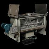 Komprimiertes vorbildliches horizontales doppeltes Farbband-trockene Puder-Mischer-Maschine
