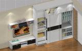 Глянцевый белый деревянный шкаф для отеля мебель (zy-022)