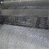 電流を通された六角形ワイヤー網(3m*0.5m*0.5m)
