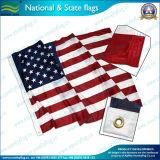 최고 Knit 120GSM Polyester 미국 미국 Flag (A-NF05F06003)
