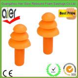 Earplugs Non-Allergenic мягкого силикона звукоизоляционные плавая штепсельные вилки уха
