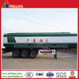 O transporte de combustível semi reboque Tanque de Aço Inoxidável