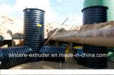 Линия штрангя-прессовани трубы Krah HDPE с стеной составленной дорнами спиральн