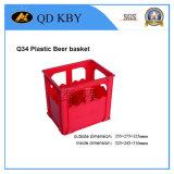 Q33 la botella de cerveza de plástico cajas de almacenamiento y el volumen de negocios