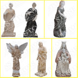 Carrara 백색 대리석 Ms 069에 있는 4명 절기 Maidens
