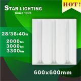Nova Luminária 36W 600X600 LED Grille Lamp