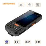 GPSのアンドロイド6.0 UHF RFID Handhledのデータ収集装置のバーコードのスキャンナー