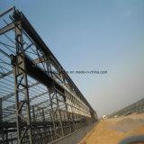 De grote Spanwijdte prefabriceerde de Workshop van het Structurele Staal met Beste Ontwerp