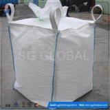 Grand sac blanc de pp pour la saleté de l'emballage 1000kg