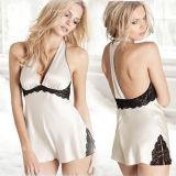 Sous-vêtements sexy de mode de modèle de Babydoll de dames érotiques de lingerie