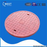 Coperchio di botola scaricato della plastica di rinforzo vetroresina FRP GRP