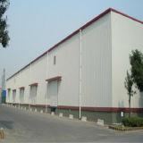 Tettoia prefabbricata del magazzino di memoria della struttura d'acciaio fatta in Cina