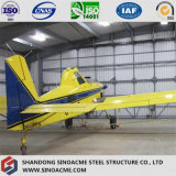 Estrutura de aço prefabricadas Sinoacme edifício para Hangar de aeronaves