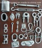 ステンレス鋼の手錠、ワイヤーロープクリップ、索具のハードウェアのターンバックル
