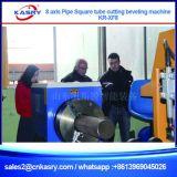 Tubo de múltiples funciones y máquina que bisela del tubo del CNC del corte rectangular cuadrado del plasma