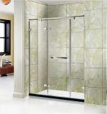 調節可能なLuxiousの浴室のシャワーの小屋のシャワー・カーテンのシャワーのドア