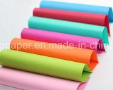 Best Quality 100% Pâte à bois 160g Papier coloré Papier offset