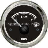 "대중적인 2 "" Cars Boats를 위한 52mm Fuel Level Gauge Meter 12V 24V"
