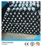 Instalaciones de tuberías inconsútiles de acero suave del codo del tubo 90deg del Bw