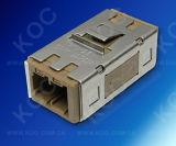Adaptador simples da MU da fibra óptica