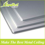 10 ans d'expérience Panneau de plafond carré en aluminium ignifuge
