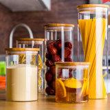 Bouteille/choc de tube de verre de Borosilicate pour la mémoire de nourriture