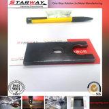 Вырезывание лазера штемпелюя изготовление металлического листа части
