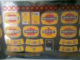 Metallisiertes silbernes Papier für Bier beschriftet Drucken