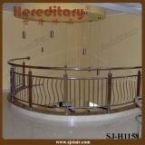 Sistema di inferriata dell'interno dell'acciaio inossidabile del corrimano della scala di AISI 304 (SJ-813)
