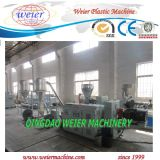 PVC Hot Cutting Pelletizing Production Line con Conical Double Screw Extruder