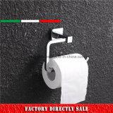 De Houder van het Toiletpapier van het Messing van de Plaat van het chroom van de Toebehoren van de Hanger
