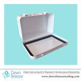 医学の製品だけまたはボックスが付いている基本的な救急箱