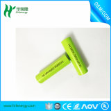 Bateria de íon de lítio cilíndrica 3.7V (1500-2700mAh) uma tocha