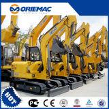 Máquina escavadora famosa de 6 toneladas da eficiência elevada a mini fixa o preço da máquina escavadora da máquina da máquina escavadora Xe60 para a venda
