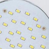 luz de painel redonda branca do diodo emissor de luz de 9W AC95-240V