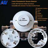 Высок-Чувствительный обычный индикатор дыма пожара 24V с конкурентоспособной ценой
