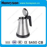Bouilloire électrique fine d'acier inoxydable de la qualité #304 de Honeyson pour l'hôtel
