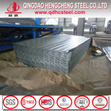 Лист толя металла утюга Galvalume Corrugated для плитки крыши