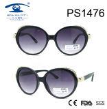 Большие круглые солнечные очки PC типа женщины рамки (PS1476)